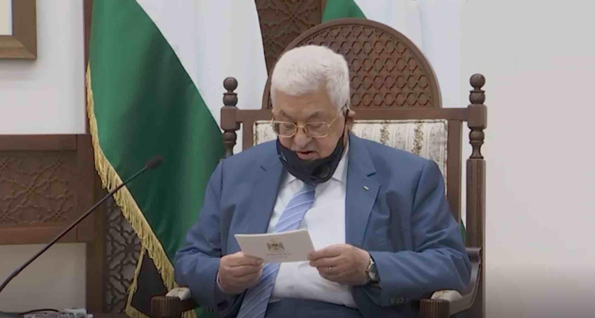"""محمود عباس يعين """"الحلو"""" لرئاسة الشرطة الفلسطينية  و""""عطالله"""" يتغيب عن الاعلام"""