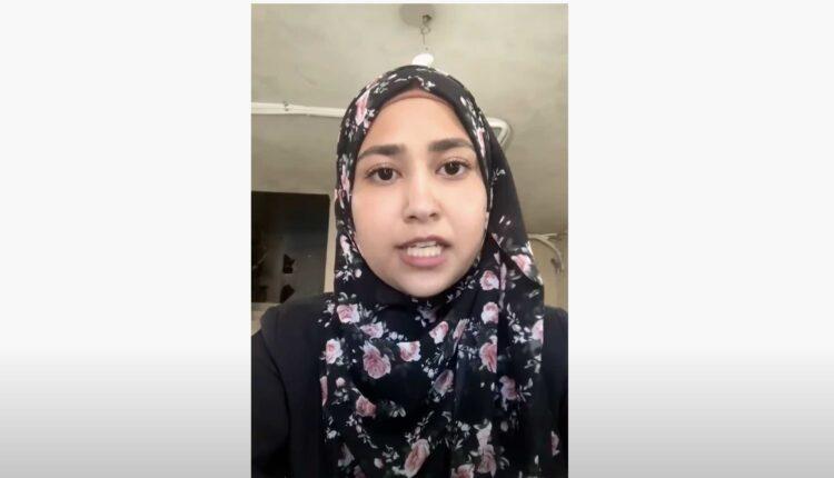 شقيقة الشهيد مهند حلبي (الصورة Screen Grab)