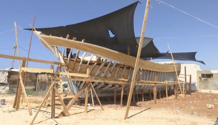 جمعية خيرية تبني قاربا كبيرا لمساعدة الصيادين الفقراء