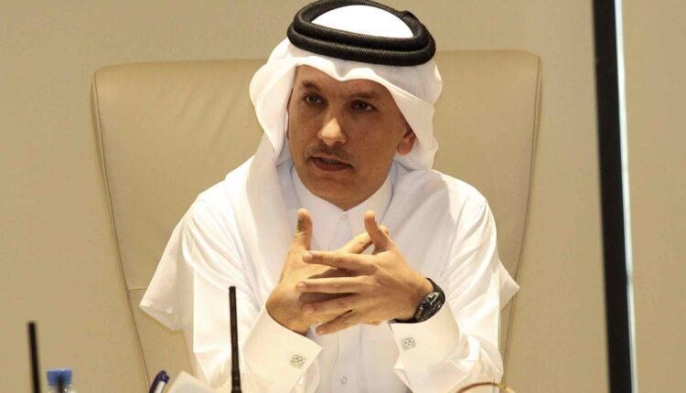 وزير المالية القطري علي شريف العمادي (الصورة- رويترز/ارشيف)