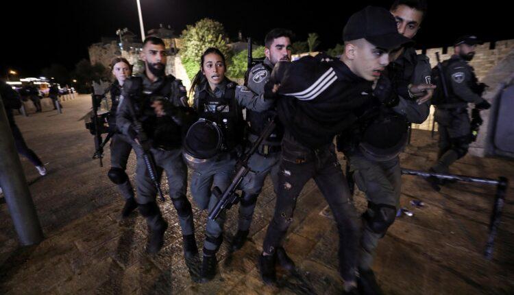 الشرطة الاسرائيلية تعتقل فلسطينيا في القدس