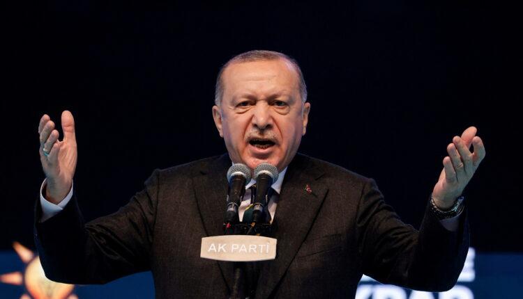 الرئيس التركي رجب طيب أردوغان في أنقرة يوم 24 مارس آذار 2021. (الصورة: رويترز)
