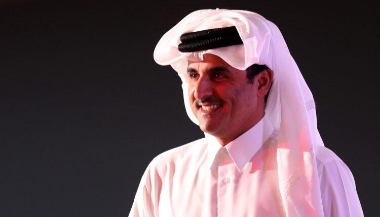 أمير قطر الشيخ تميم بن حمد آل ثاني في الدوحة (الصورة:رويترز – ارشيف)