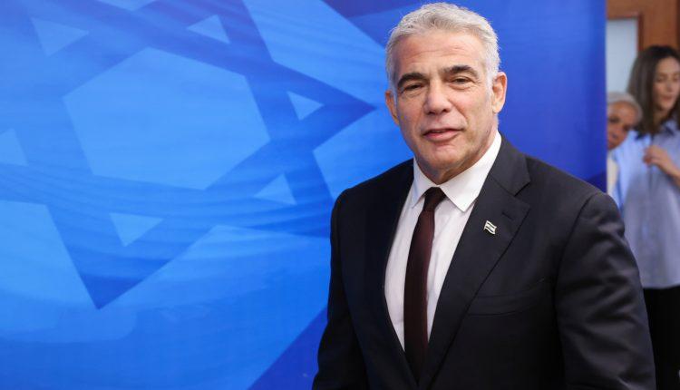 خطة يائير لابيد بمشاركة السلطة.. طريق جديد للتعامل مع قطاع غزة
