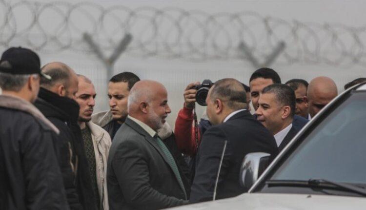 وفد امني مصري في قطاع غزة (الصورة: ارشيف)